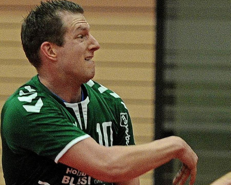 <BZ-FotoAnlauf>SV Schutterzell:</BZ-Fo... traf zehn Mal gegen die HSG-Reserve.   | Foto:  Büro Schaller