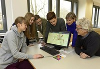 Wentzinger-Schüler zeigen mit einer App, wo Barrieren das Leben schwer machen