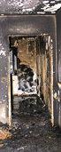 Wohnung brennt vollständig aus