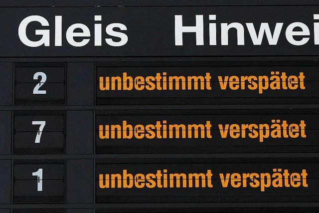 Land erhält elf Millionen Euro für verspätete Züge im Nahverkehr