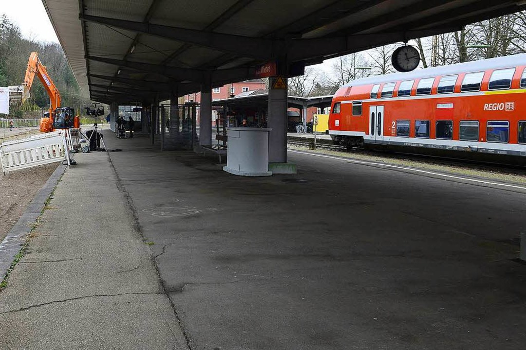 Der Wiehrebahnhof wird zur Schaltzentrale beim S-Bahn-Großprojekt.  | Foto: Ingo Schneider