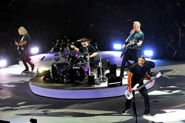 Metallica in Mannheim: Die Fratze der Zuversicht