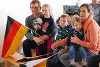 Fabian Rießles Familie verfolgte seinen Medaillenlauf gebannt vor dem TV