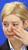 GESICHT DES TAGES: Abschied mit Tränen