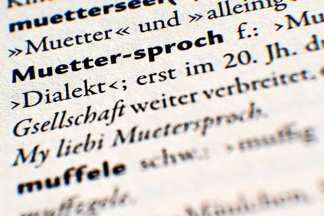 Heidi Zöllner von der Muettersproch-Gsellschaft Wiesental: