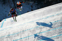 Kanadier Leman gewinnt Gold im Skicross - Deutsche chancenlos