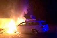 25. Fall in Ortenauer Brandserie: Unbekannter zündet zwei Autos in Kippenheim an