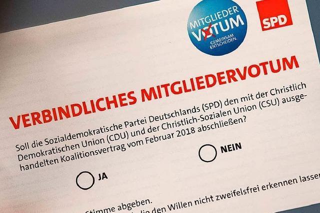 Die Lörracher SPD-Basis ist gespalten