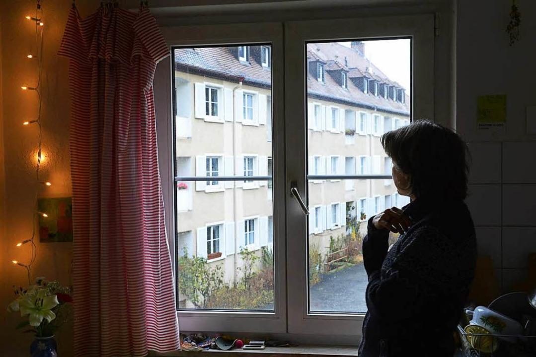 Die Bewohner der rund 300 Wohnungen de... haben Angst vor Sanierung und Abriss.  | Foto: Ingo Schneider