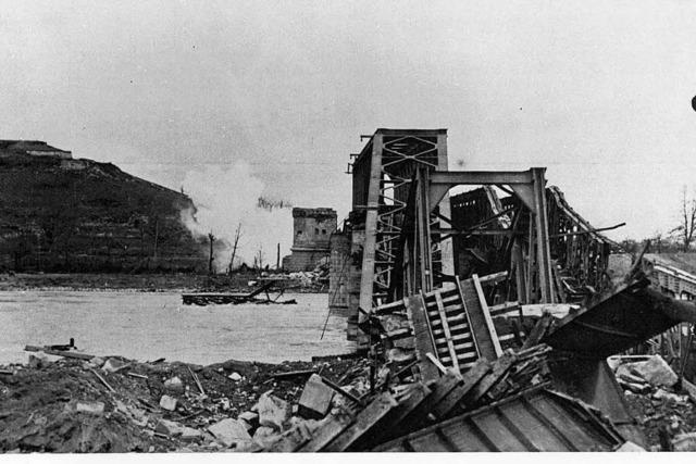 Bis zum zweiten Weltkrieg gab es eine Bahnverbindung zwischen Colmar und Freiburg