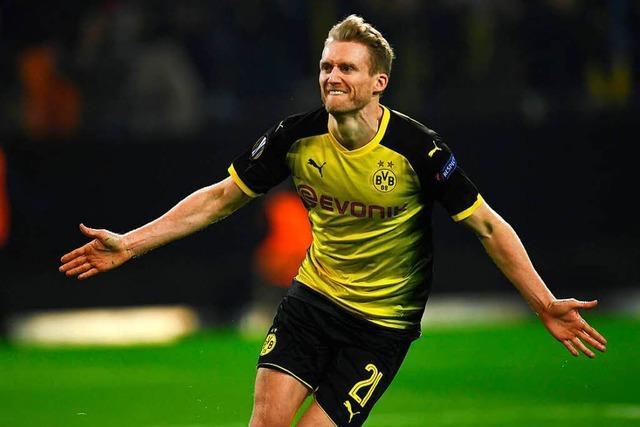 Dortmund und Leipzig kämpfen um Viertelfinaleinzug