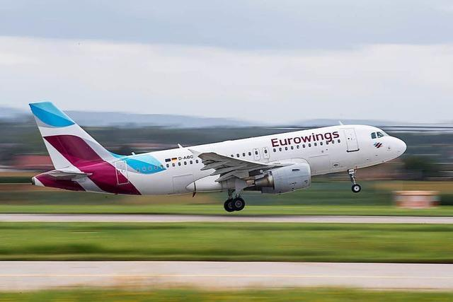 Eurowings-Flugzeug löst Großalarm am Stuttgarter Airport aus