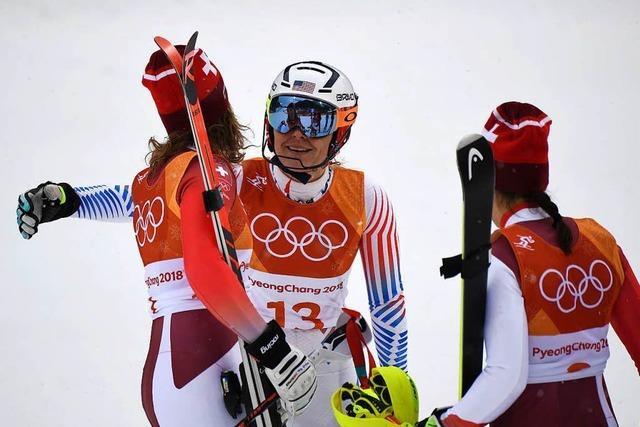 Gisin Olympiasiegerin in der alpinen Kombination – Lindsey Vonn raus