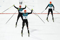 """Olympiateilnehmer Fabian Rießle: """"Wir haben gut aufeinander aufgepasst"""""""