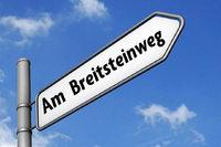 "Huttinger Ortschaftsrat wählt den Straßennamen ""Am Breitsteinweg"""