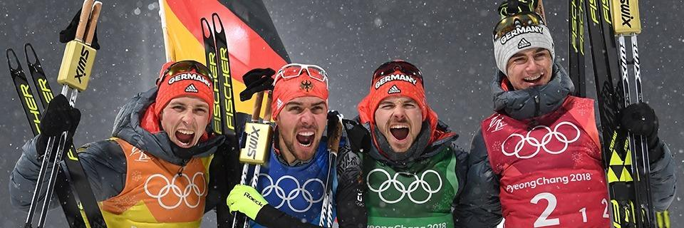 Fabian Rießle aus St. Märgen gewinnt Gold mit dem Team