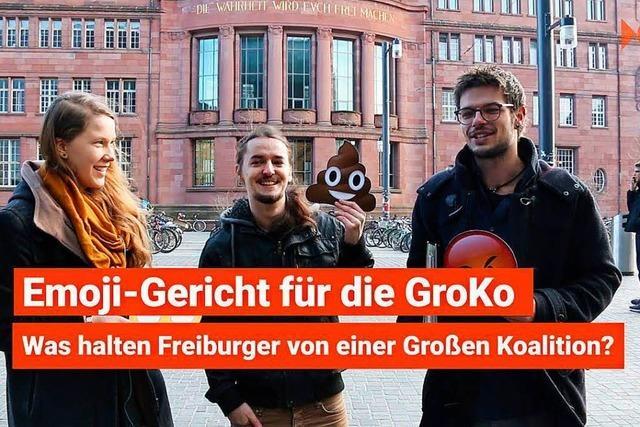 Emoji-Umfrage: Was ist Eure Meinung zur GroKo?