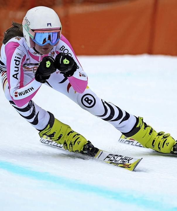 Leah Bühler  zeigt stabile Leistungen im Super G.   | Foto: siegmund