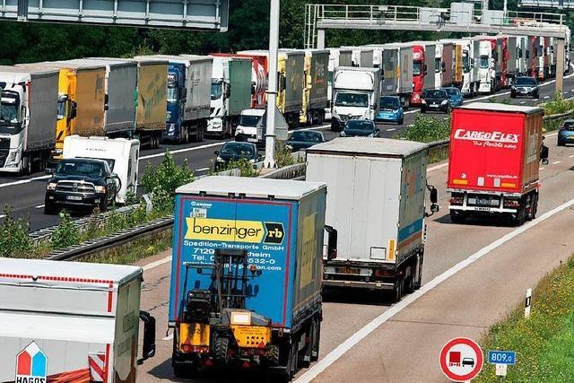 Die Lösung für die Lkw-Staus an der Grenze zur Schweiz könnte in Frankreich zu finden sein
