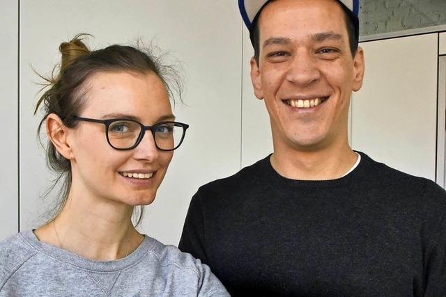 Paar dreht Film an der EU-Grenze