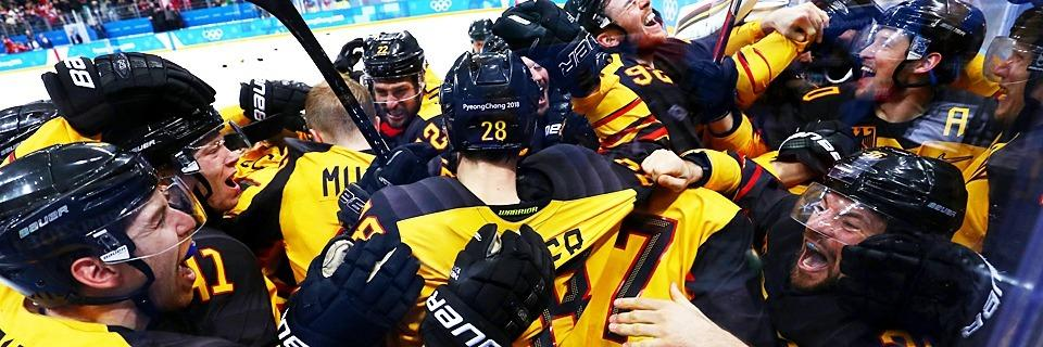 Eishockey-Sensation: Deutschland steht im Olympia-Finale