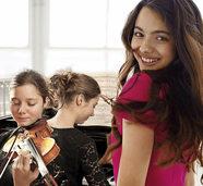 Laura Bretan und die Friedrich-Schwestern Hanna und Katrin geben Konzert im Gloria-Theater