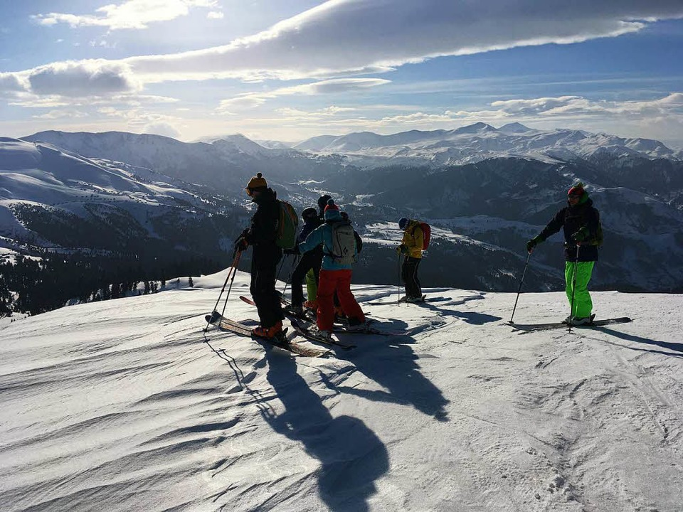 Skifahren in Georgien.  | Foto: Stefan Zahler