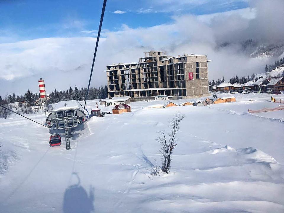 das Goderdzi Skiressort.  | Foto: Stefan Zahler