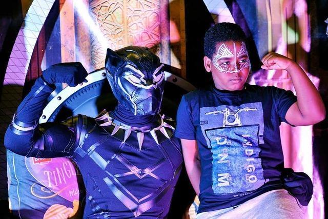 Black Panther versetzt Afrika in einen Superheldenrausch
