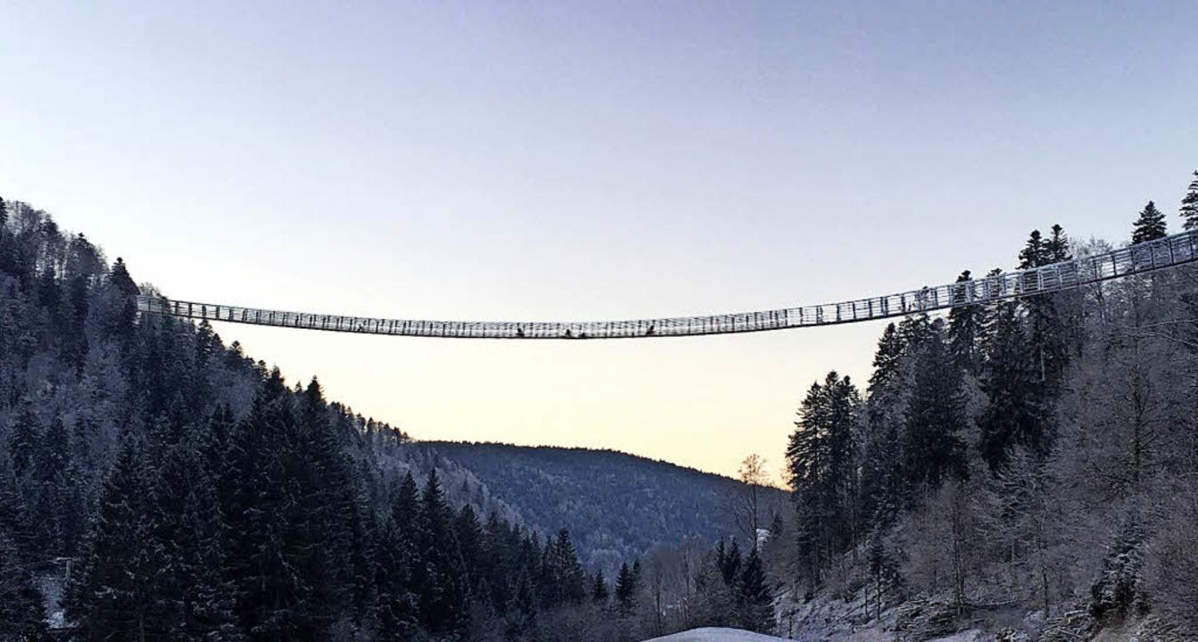 Rennen um Rekord-Hängebrücke - Todtmoos - Badische Zeitung