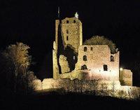 Burgen im Modell