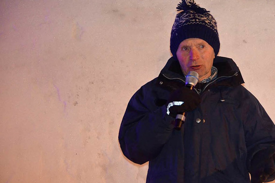 Skisportlegende Georg Thoma war zu Gast in Todtmoos. (Foto: Christiane Sahli)