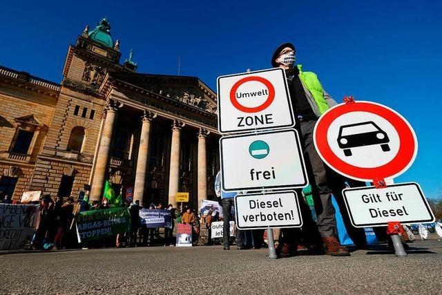 Bund bereit zu punktuellen Mini-Diesel-Fahrverboten