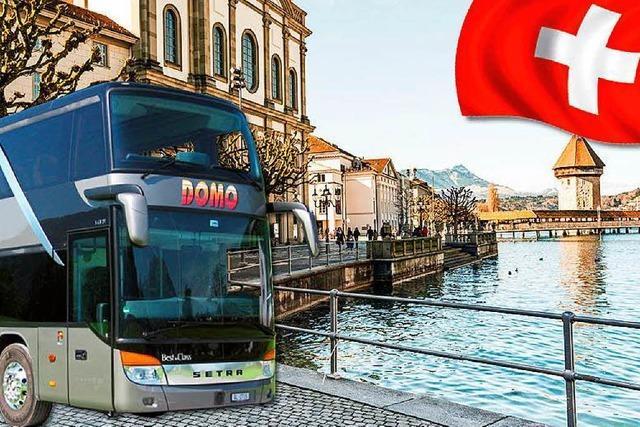 Für weniger Geld in die Alpen: In der Schweiz starten Fernbus-Linien