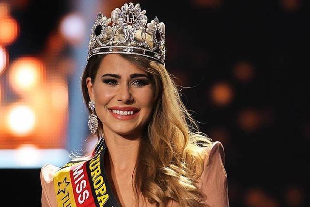 Miss Germany 2018 kommt aus Schwaben - Giuliana Farfalla in Jury