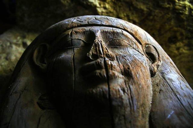 Ägypten präsentiert erste Funde aus der Totenstadt von Minia