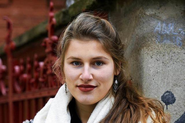 Die Freiburger Geigerin Milena Wilke will etwas bewirken