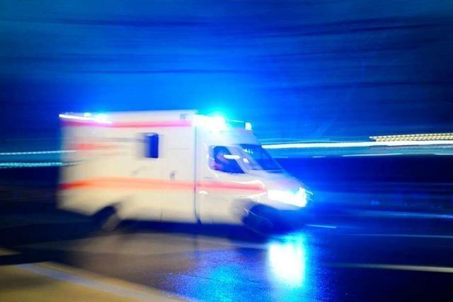 Drei Verletzte bei Unfall auf A5 nahe Bühl