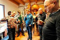 Veilchen, Ginster, Zimt: Zu Besuch bei einem Gin-Seminar