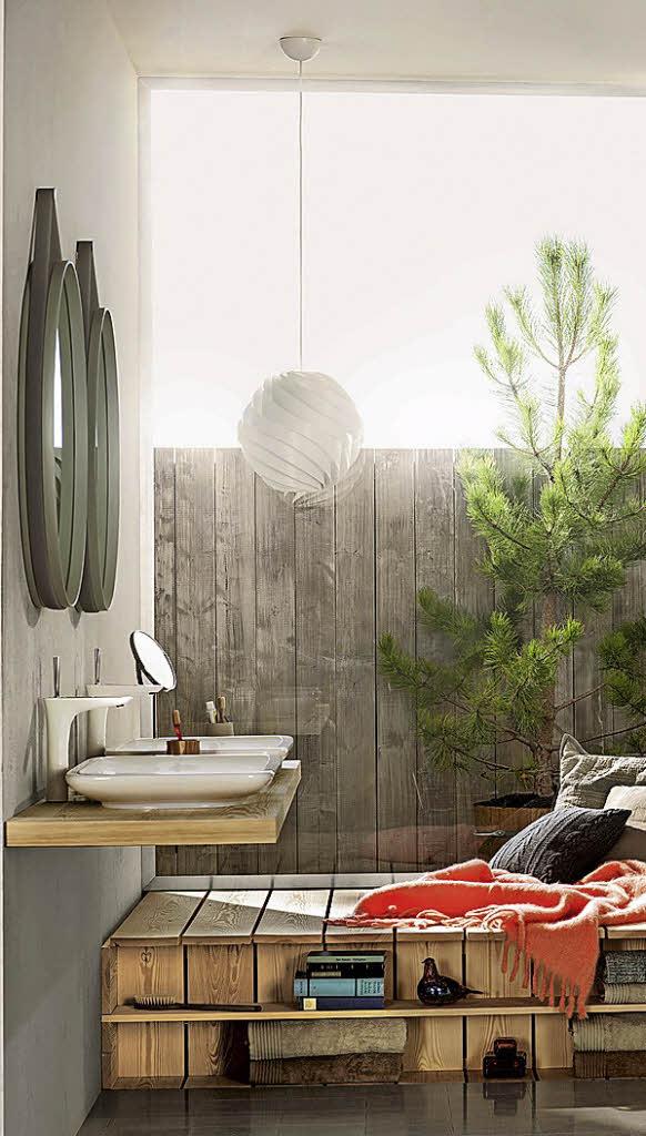 wei ist die vorherrschende farbe im bad haus garten badische zeitung. Black Bedroom Furniture Sets. Home Design Ideas