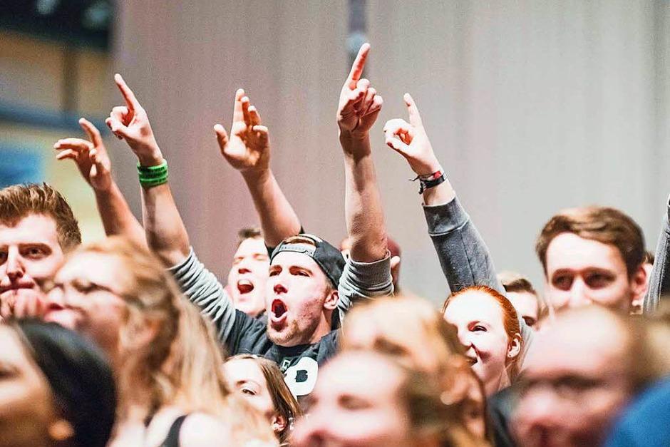 SDP in der Freiburger Sick-Arena. (Foto: Fabio Smitka)