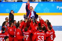 Fotos: Russland gewinnt dramatisches Eishockey-Finale gegen das DEB-Team