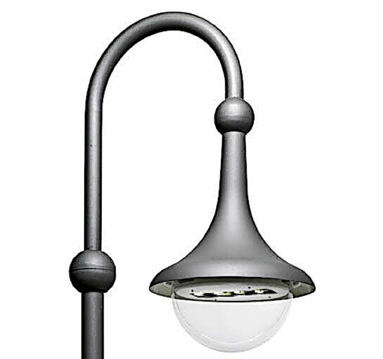 Foto: Thomas Rhenisch; So Sehen Einige Der Neuen LED Lampen Aus. | Foto:  Planungsgruppe Burgert,
