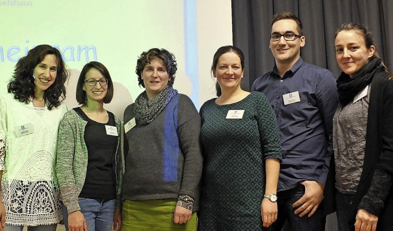 Das Planungsteam: Sunhild Peters,Tatja..., Markus Becker und Anne Kesenheimer.     Foto: Martina David-Wenk