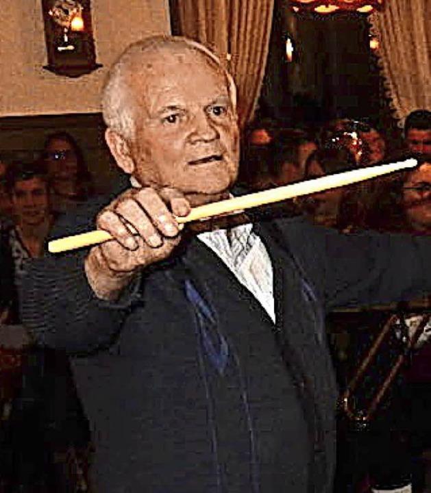 Ehrendirigent Georg Allgeier  | Foto: Kurt Meier