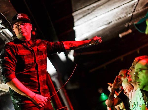 """Hatten mit """"Smooth Criminal"""" einst einen Hit: Die Musiker der amerikanischen Rockband Alien Ant Farm spielten am Mittwochabend im Crash."""