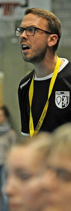 <BZ-FotoAnlauf>TuS Ottenheim:  </BZ-Fo...seinem Team beim Schlusslicht siegen.   | Foto: pbs