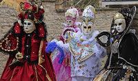 Maskenträger/innen aus ganz Europa zu Gast im Elsass