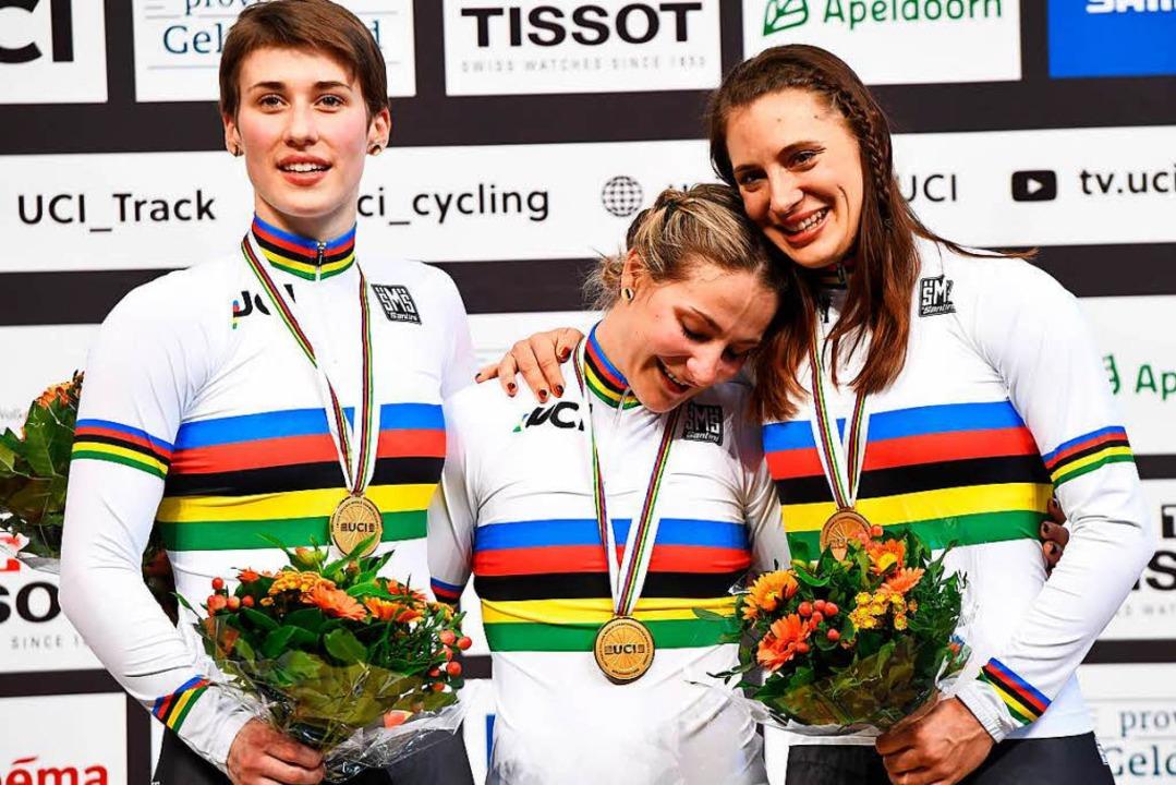 WM-Gold im Teamsprint für Miriam Welte