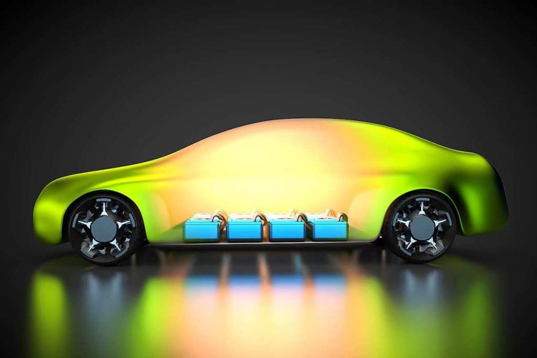 Fürs E-Auto zentral: die Batterie  | Foto: Stock.Adobe